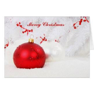 De Zegen van Kerstmis Wenskaart