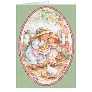 De Zegen van Pasen - Wenskaart