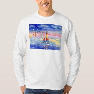 De Zeilboten van de Kat van Hobie T Shirt