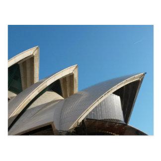 De Zeilen van het Huis van de Opera van Sydney Briefkaart