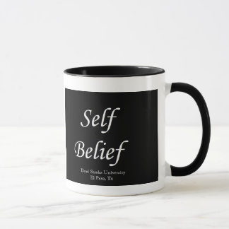 De zelf Mok van de Koffie van het Geloof