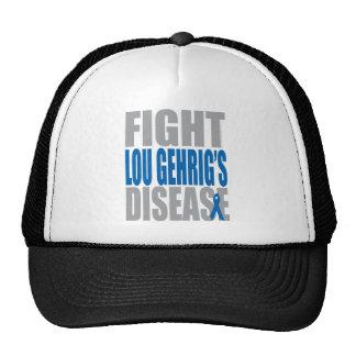 De Ziekte van Lou Gehrig van de strijd Mesh Petten