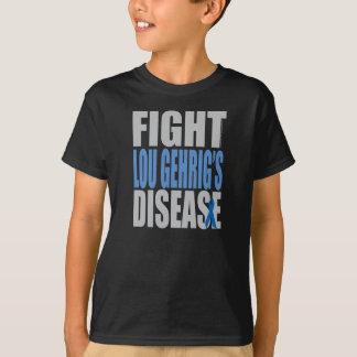 De Ziekte van Lou Gehrig van de strijd T Shirt