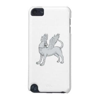 De ZijTekening van Chamrosh iPod Touch 5G Hoesje