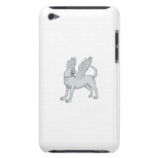 De ZijTekening van Chamrosh iPod Touch Hoesje