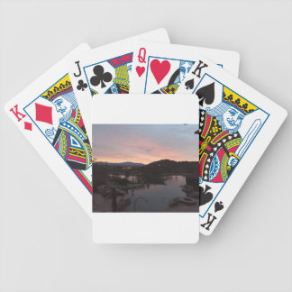 De ZijZonsopgang van de pool Poker Kaarten