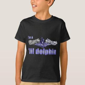 De Zilveren Dolfijnen van de Dolfijn van Lil T Shirt