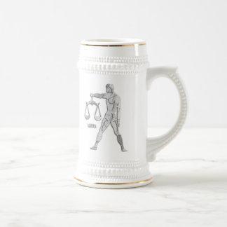 De zilveren/Grijze Stenen bierkroes van de Douane Bierpul