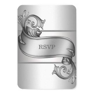 De zilveren Kaarten van de Rol RSVP