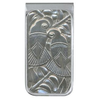 De zilveren Klem van het Geld van de Verzilverde Geldclip