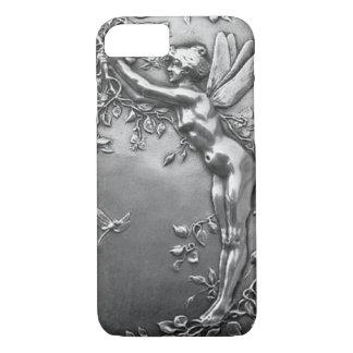 De zilveren Vintage Juwelen van de Antiek iPhone 8/7 Hoesje