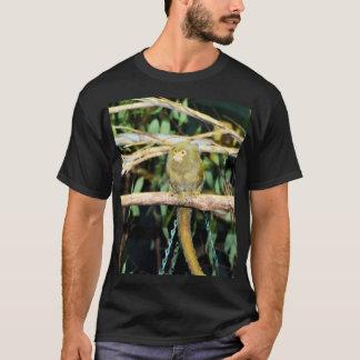 De Zitting van de Aap van Marmoset op een Tak, T Shirt