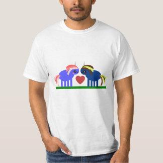 De zo leuke Herfst van Eenhoorns Kawaii in Liefde T Shirt