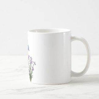 De zoemende Bloem van de Vogel past aan Koffiemok