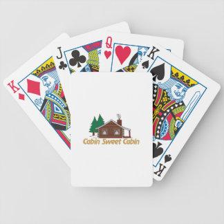 De Zoete Cabine van de cabine Poker Kaarten