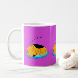 De zoete het Snurken Airedale Terrier Mok van de