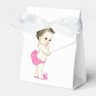 De zoete Roze Douche van het Meisje van het Baby Bedankdoosjes