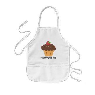 De zoete schort van het Kind Cupcake