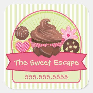 De zoete Stickers van Desserts