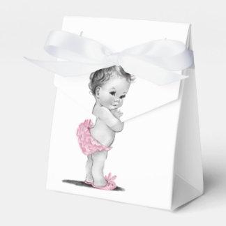 De zoete Vintage Dozen van de Gunst van het Baby Bedankdoosjes