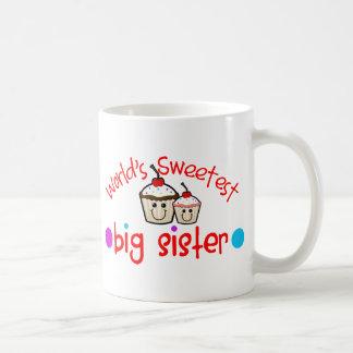 De Zoetste Grote Zuster van de wereld Koffie Mok