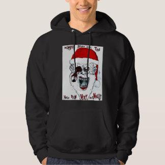 De Zombie van de kerstman Hoodie