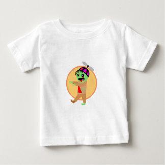 De Zombie van het pet Baby T Shirts