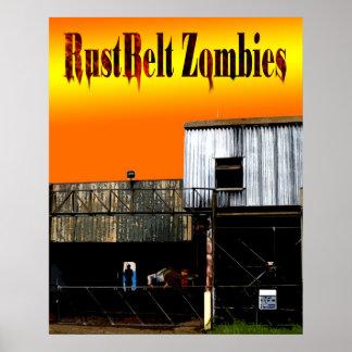 De Zombieën van RustBelt behandelen Poster
