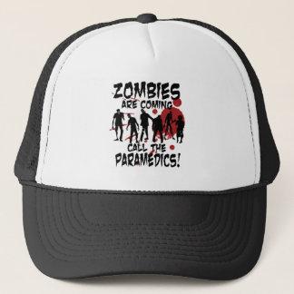 De zombieën zijn Komende Vraag de Paramedici Trucker Pet