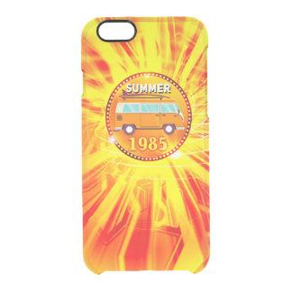 De zomer doorzichtig iPhone 6/6S hoesje