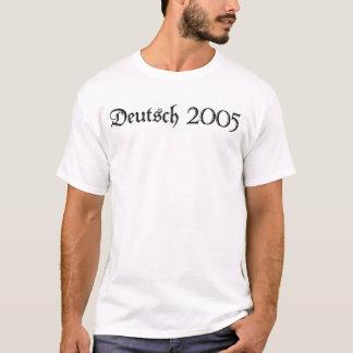 De zomer het Duits 2005 T Shirt