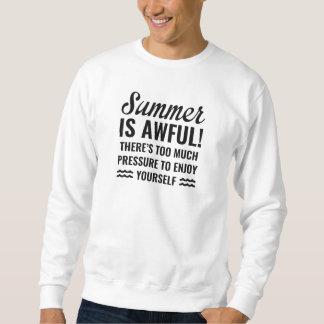 De zomer is Vreselijk Trui