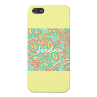 De zomer Lilly inspireerde Hoesje Iphone 5s iPhone 5 Covers