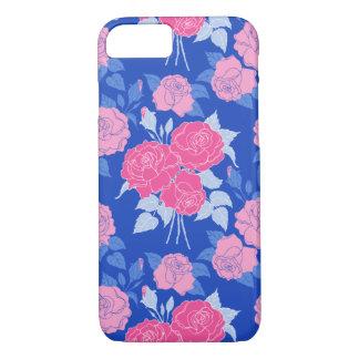 De zomer nam girly in Roze toe - vintage mooie iPhone 7 Hoesje