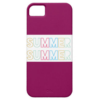 De Zomer van de zomer Barely There iPhone 5 Hoesje