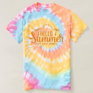 De Zomer van Hello. Geniet van Elk Ogenblik T Shirts