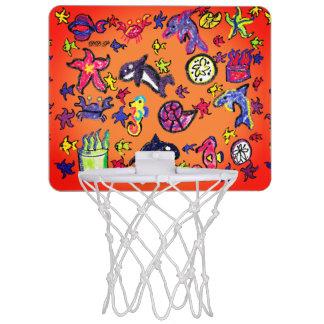 De zomer van het Leven van het zee Mini Basketbalbord