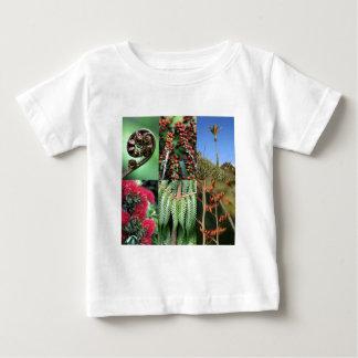 De zomerflora van Nieuw Zeeland van Kiwiana Baby T Shirts
