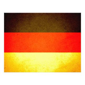 De zon gekuste Vlag van Duitsland