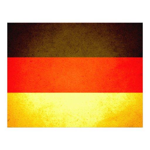 De zon gekuste Vlag van Duitsland Fullcolor Folder