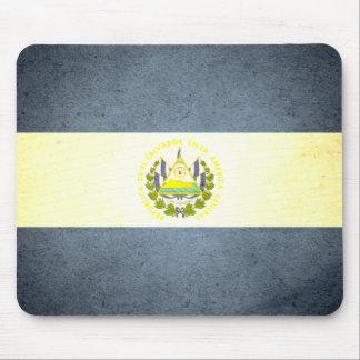 De zon gekuste Vlag van El Salvador Muismat