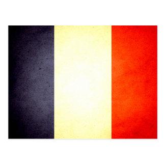 De zon gekuste Vlag van Frankrijk Briefkaart