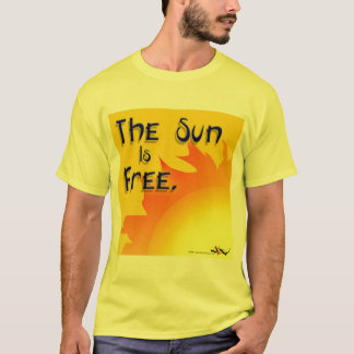 De zon is Vrij T-shirt