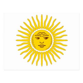 De Zon van Argentinië Briefkaart