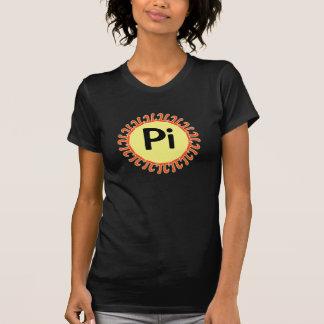 De Zon van de Dag van pi T Shirt