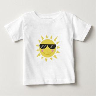 De Zon van de glimlach Baby T Shirts