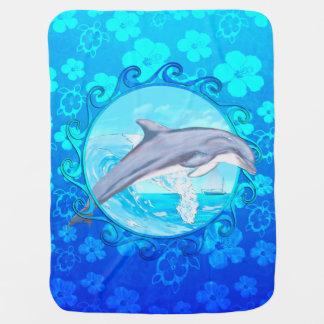 De Zon van de Maori van de dolfijn Inbakerdoek
