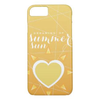 De zon van de zomer! iPhone 7 hoesje