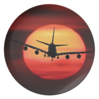 De Zon van het vliegtuig Bord
