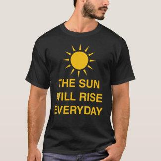 De zon zal elke dag toenemen t shirt